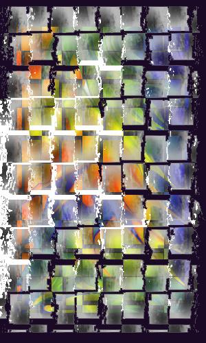 Creación propia: Abstracción en Painter con efectos digitales